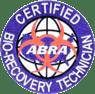 ABRA Certified Bio-Recovery Technician Seal