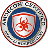 AMDECON Certified Biohazard Specialist Certification