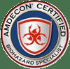 AMDECON Certified Biohazard Specialist Certification