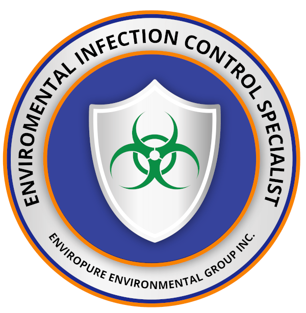 Enviropure Environmental Infection Control Specialist Badge