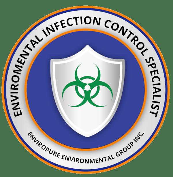 Enviropure Environmental Infection Control Specialist Badge