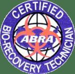 ABRA Certifient Bio-Recovery Technician Badge