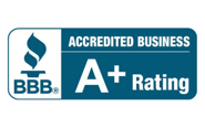 Better Business Bureau A+ Rated Accredited Business