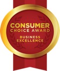 Consumer Choice Award - Business Excellence Badge