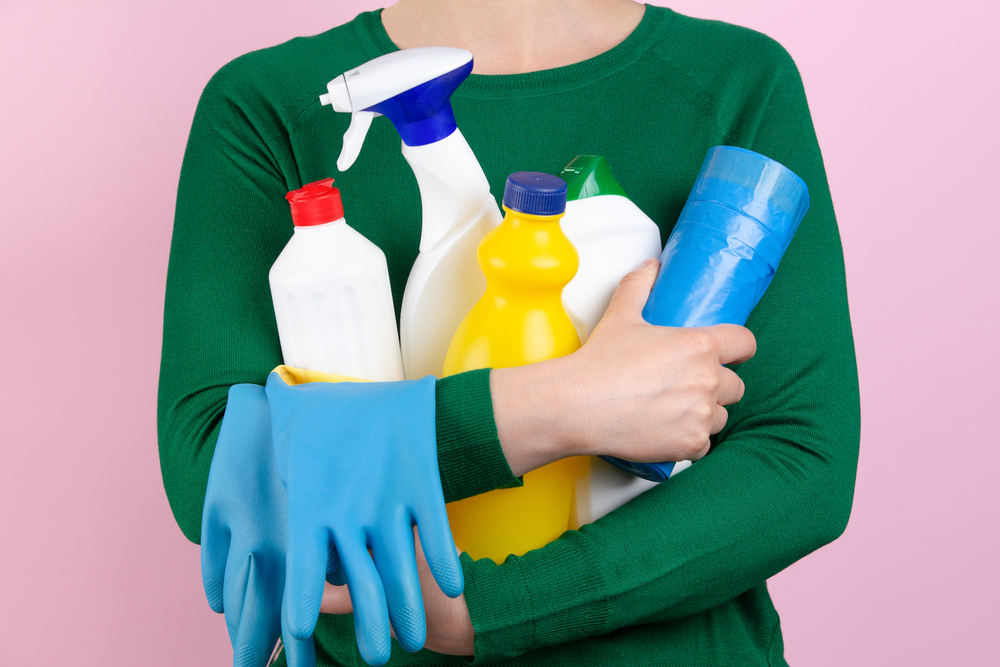 homeowner covers up odor with chemicals